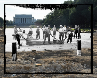 Construction: 1922 / 2011 - created with images from the Hughes Collection, University of Maryland, Baltimore County.